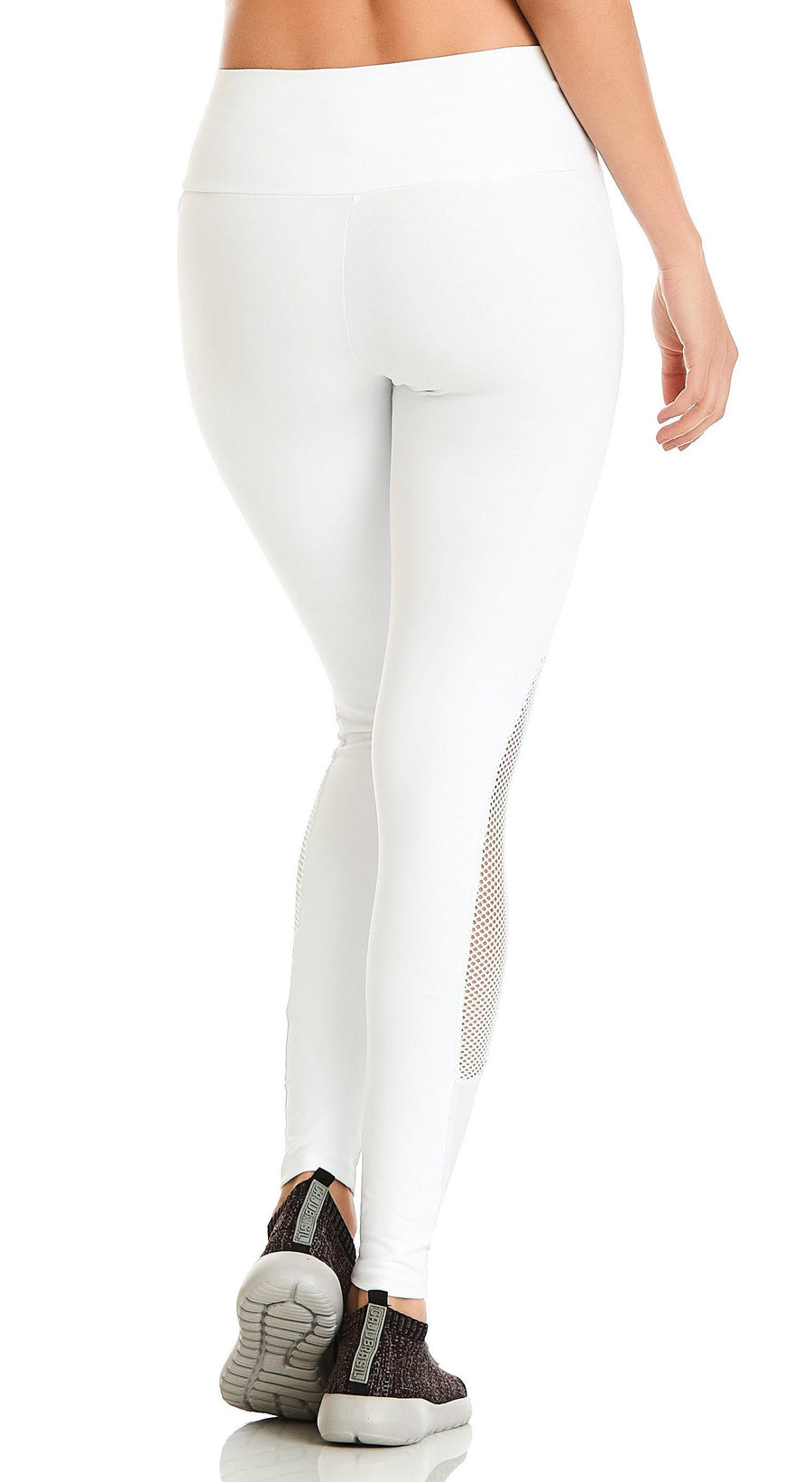 Brazilian Legging -  Mermaid  Compression White