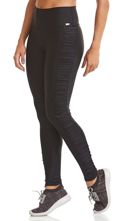 Brazilian Ruched Legging - Ruched Inspire Black