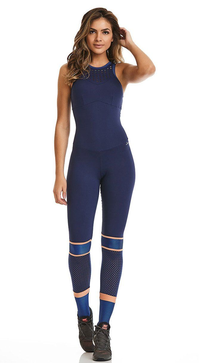 Womens Activewear White Jumpsuit Jumpsuits And Bodysuits Top