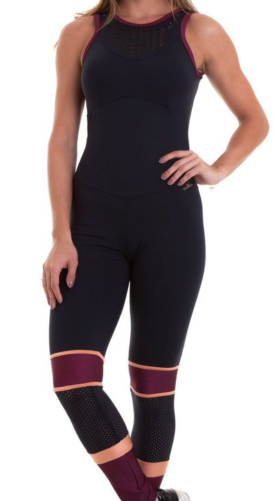 Brazilian Workout Jumpsuit - NZ Hero Black
