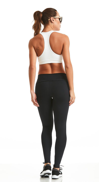 Brazilian Workout Legging - NZ High Waist Classic Black