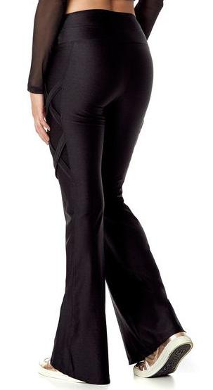 Brazilian Flare Pants - Bell Bottom Amethyst Black