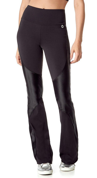 Brazilian Flare Pants - Bell Bottom Lounge Black
