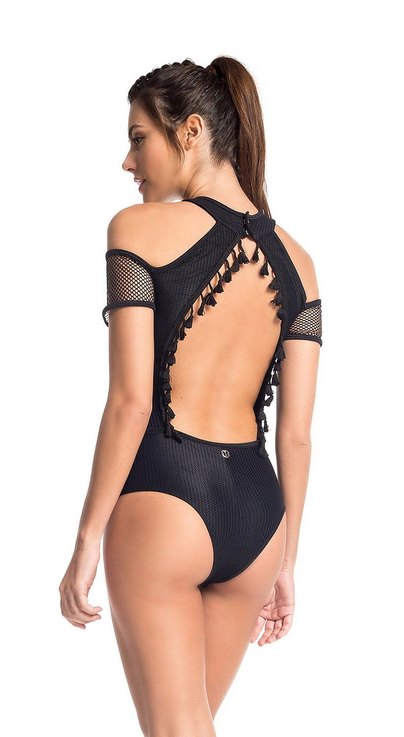 Workout Bodysuit - Body Vision Black