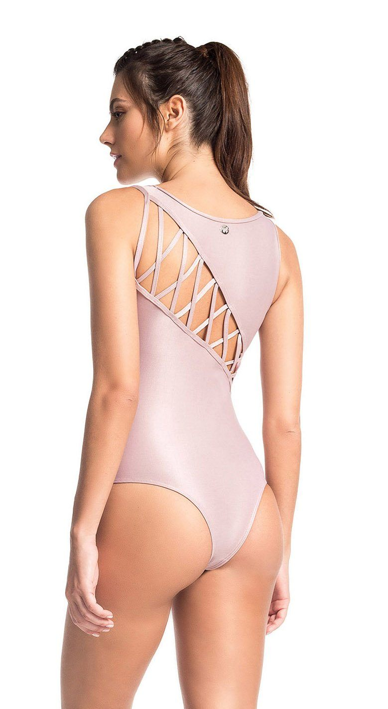 Workout Bodysuit - Glamour Rose