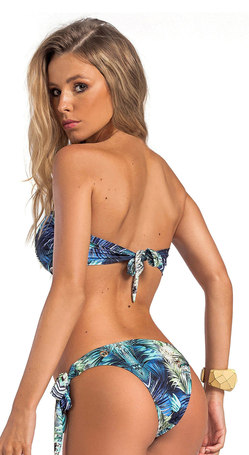 Brazilian Bikini Top - Tropical Luxury
