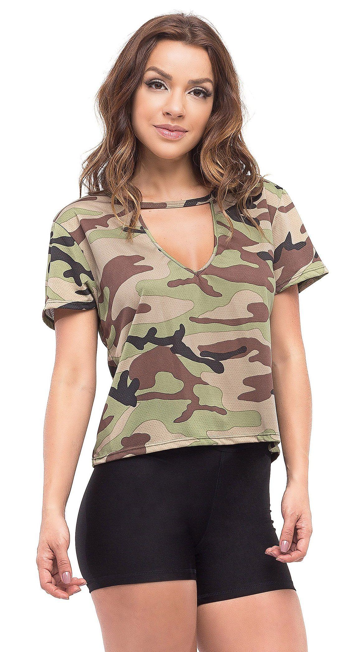 T-Shirt Fit Fashion Army