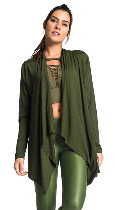 Cardigan Essentials Green