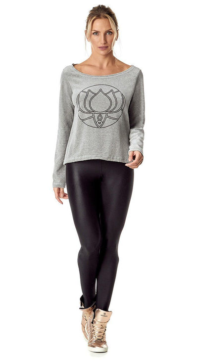 Long Sleeve T-Shirt Lotus Grey