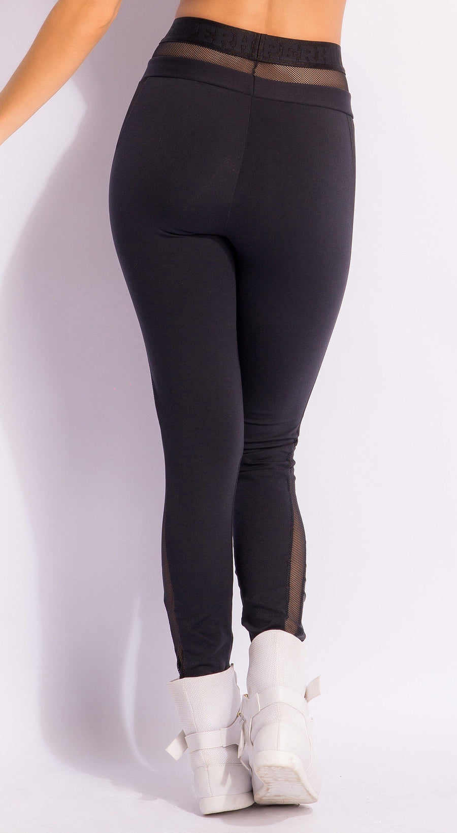 Brazilian Workout Legging - Confidence Black