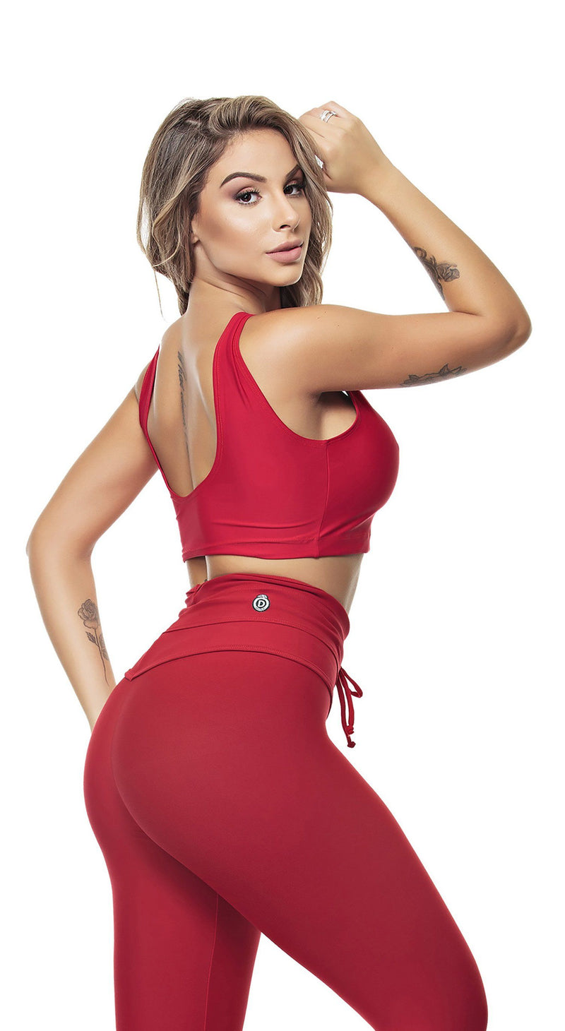 Brazilian Sports Top - Dunas Red