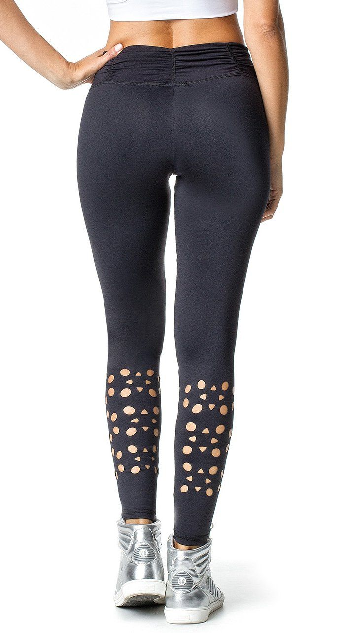 Brazilian Workout Legging -  Klein Black