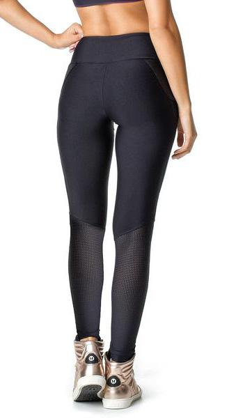 Brazilian Workout Legging - Gym Deluxe Black
