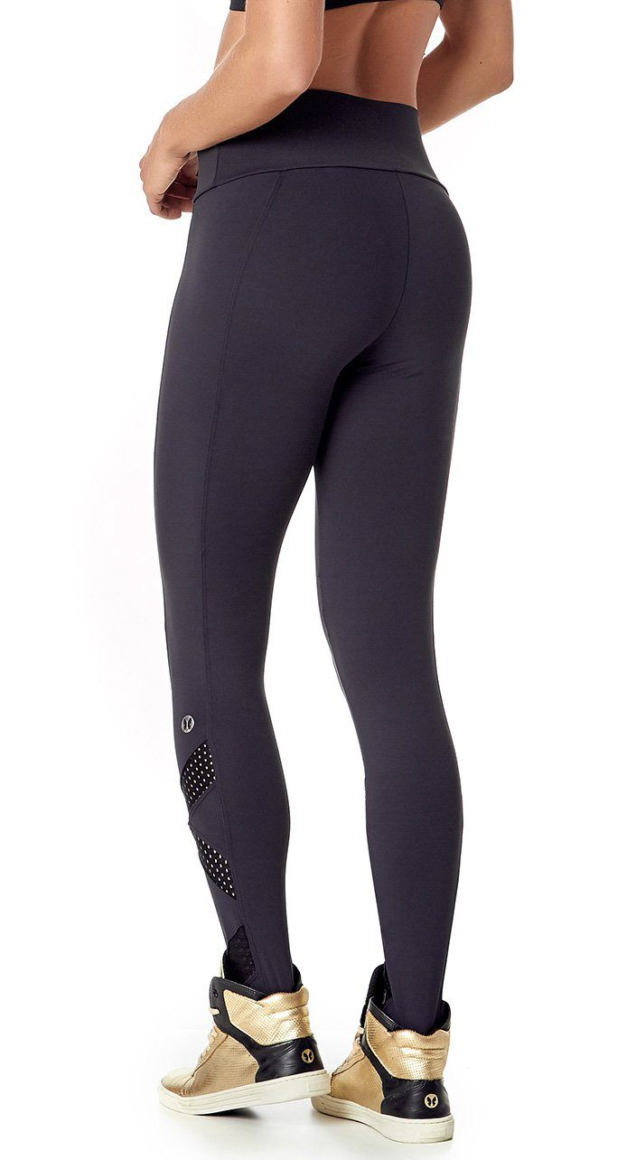 Brazilian Workout Legging - Emana Basic Black