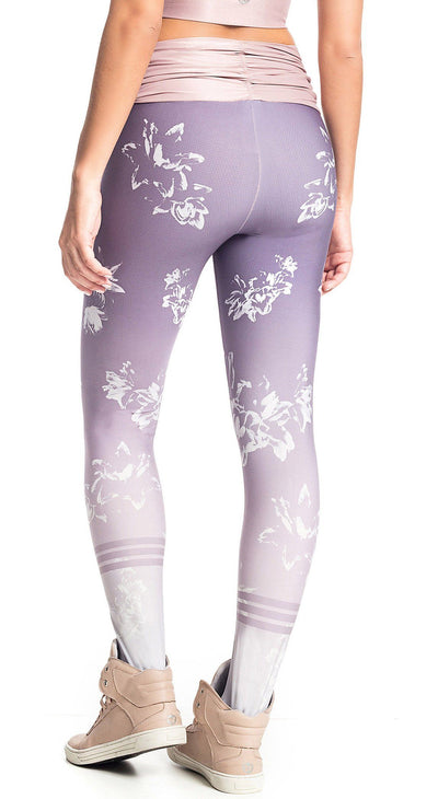 Brazilian Workout Legging - Sublime Lilac Floral Prints