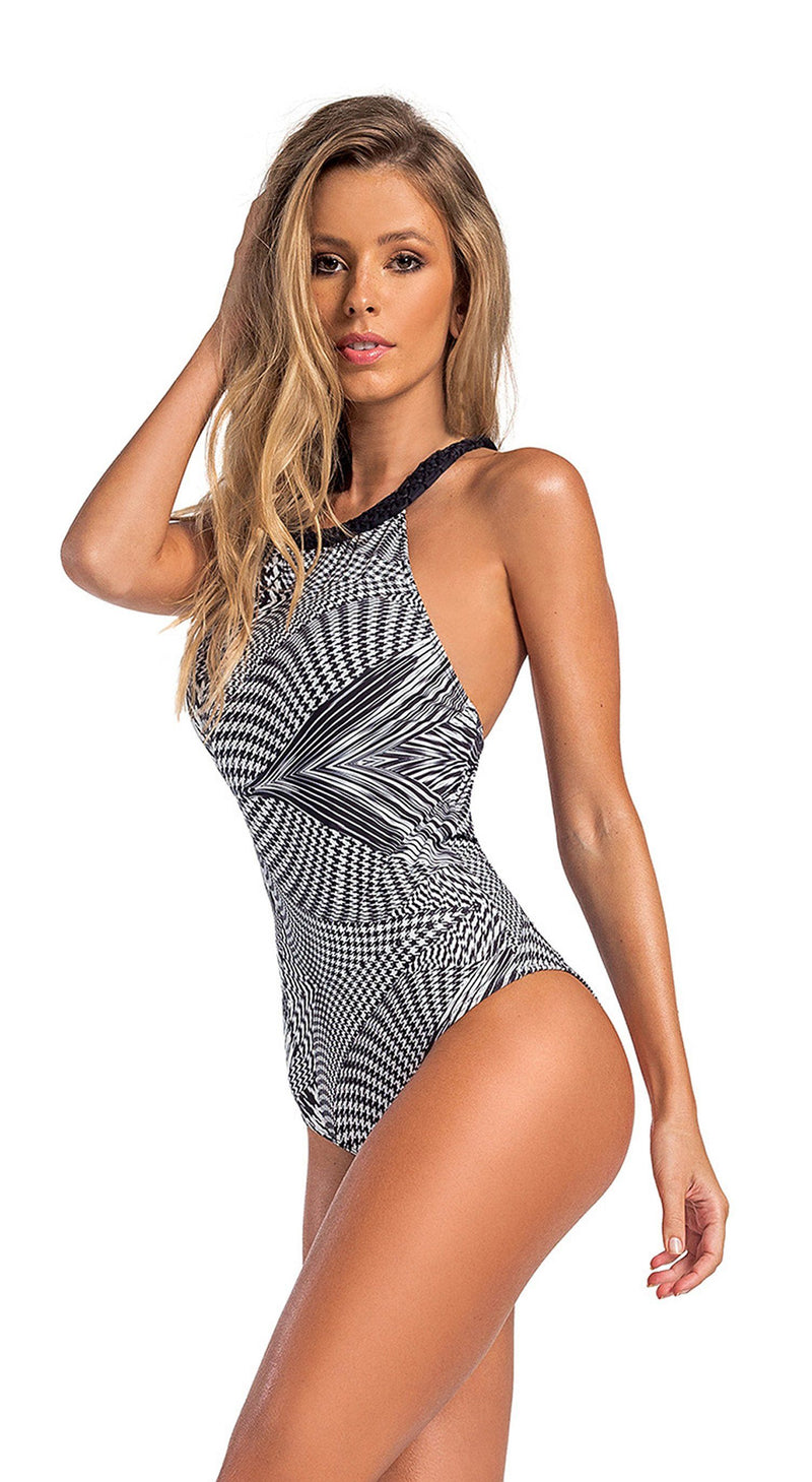 Brazilian One Piece Swimsuit - Manac Maresia