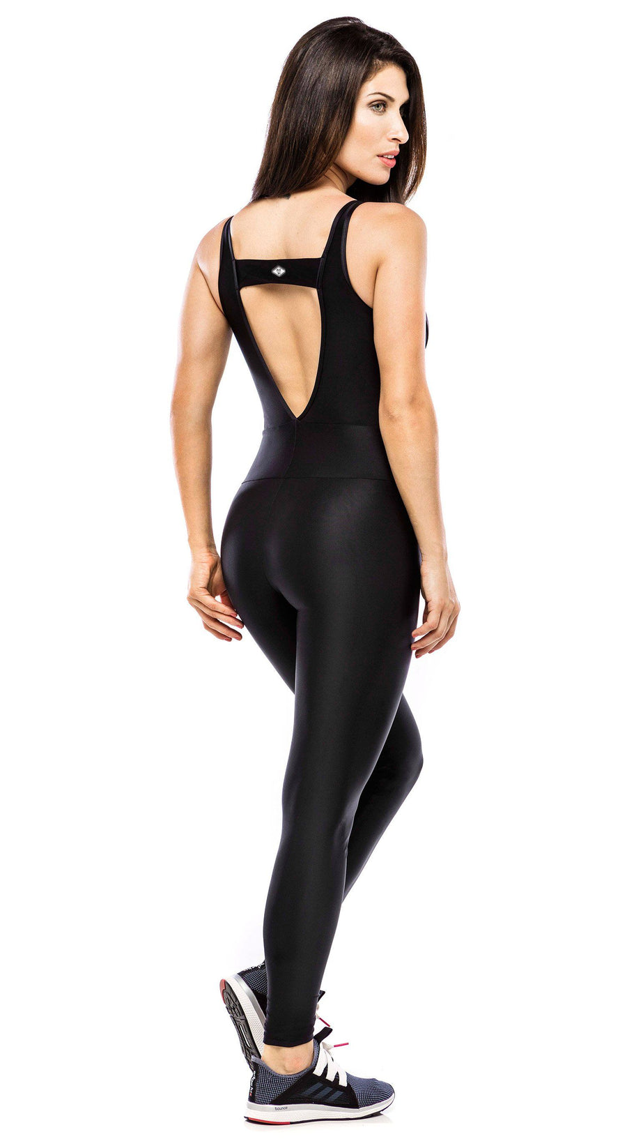 Brazilian Workout Jumpsuit - Vallis Black