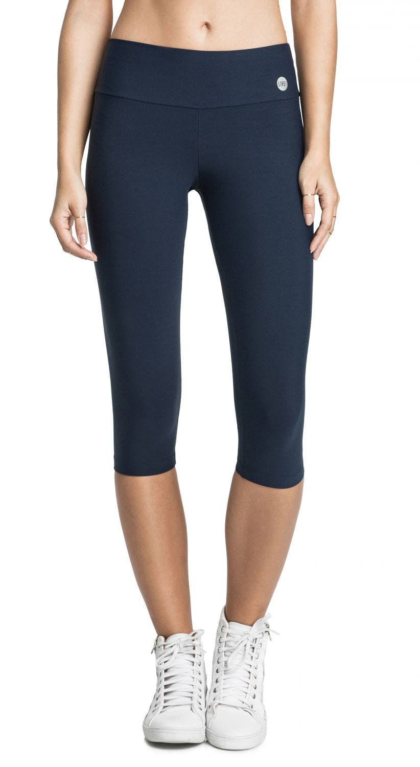 Basic Training Compression Capri - Navy