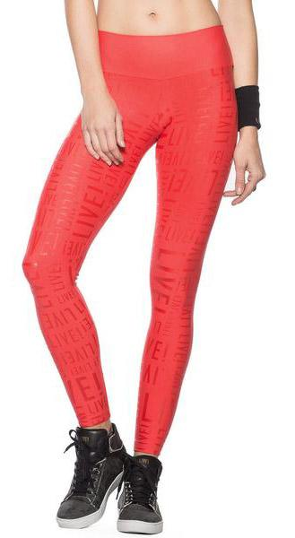 Brazilian Legging - Live! Live! Red Salsa