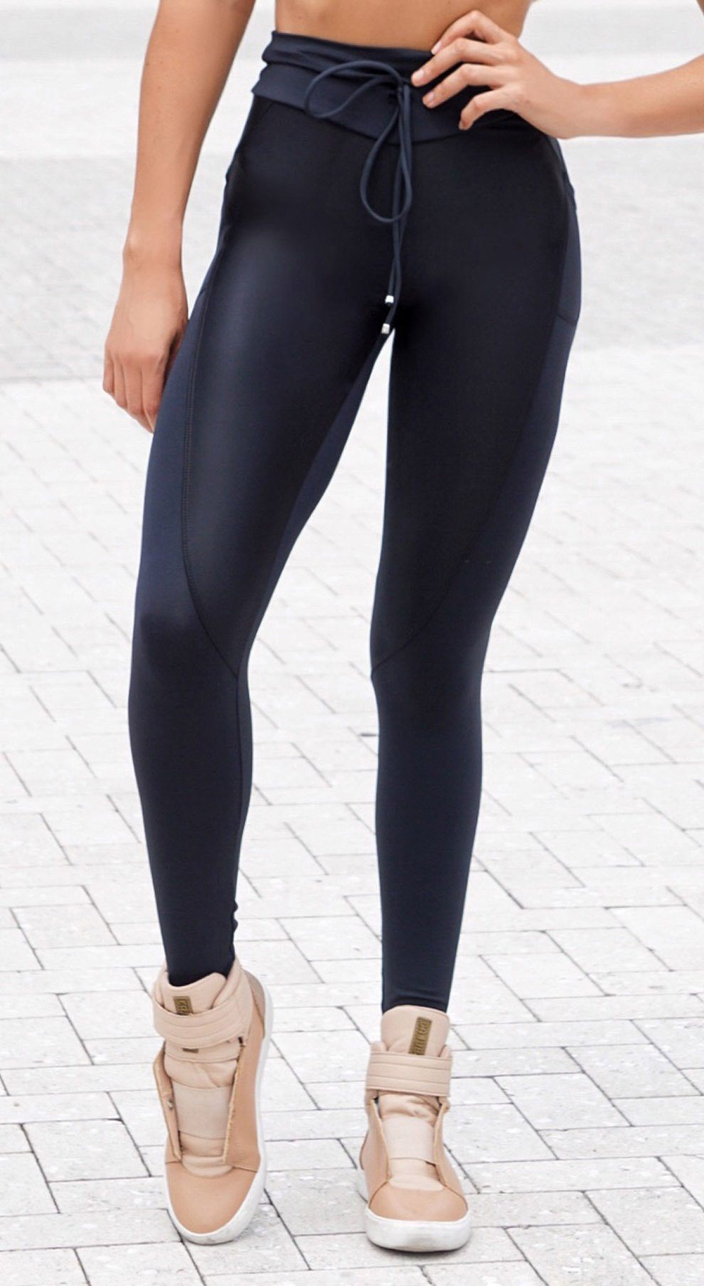 Active Legging - NZ Up Black