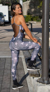 Brazilian Workout Jumpsuit - Constellation Print One Piece