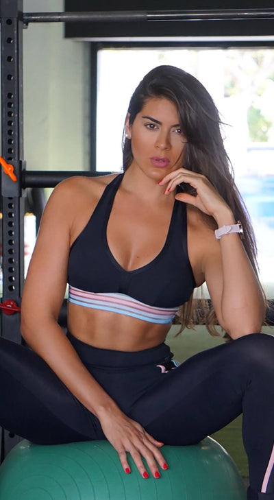 Sports Bra - Emana Magical Black