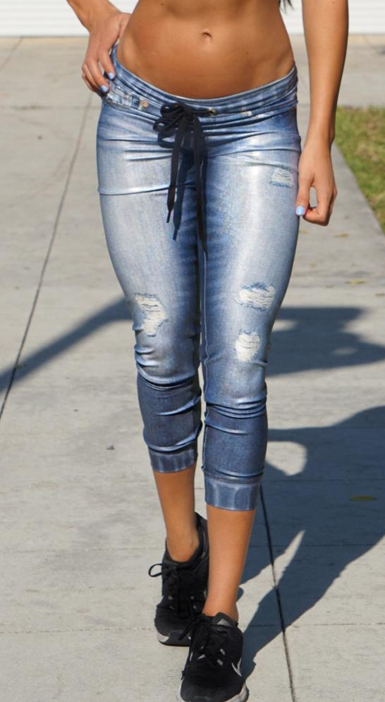 Brazilian Fake Jeans - Denim Jogger I