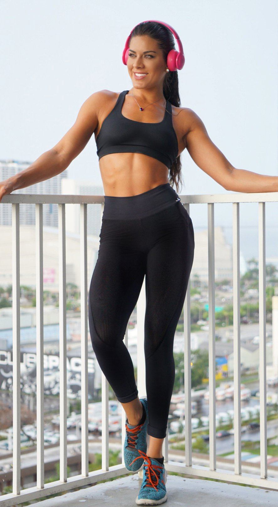 Brazilian Legging -  Butt Push Up Black