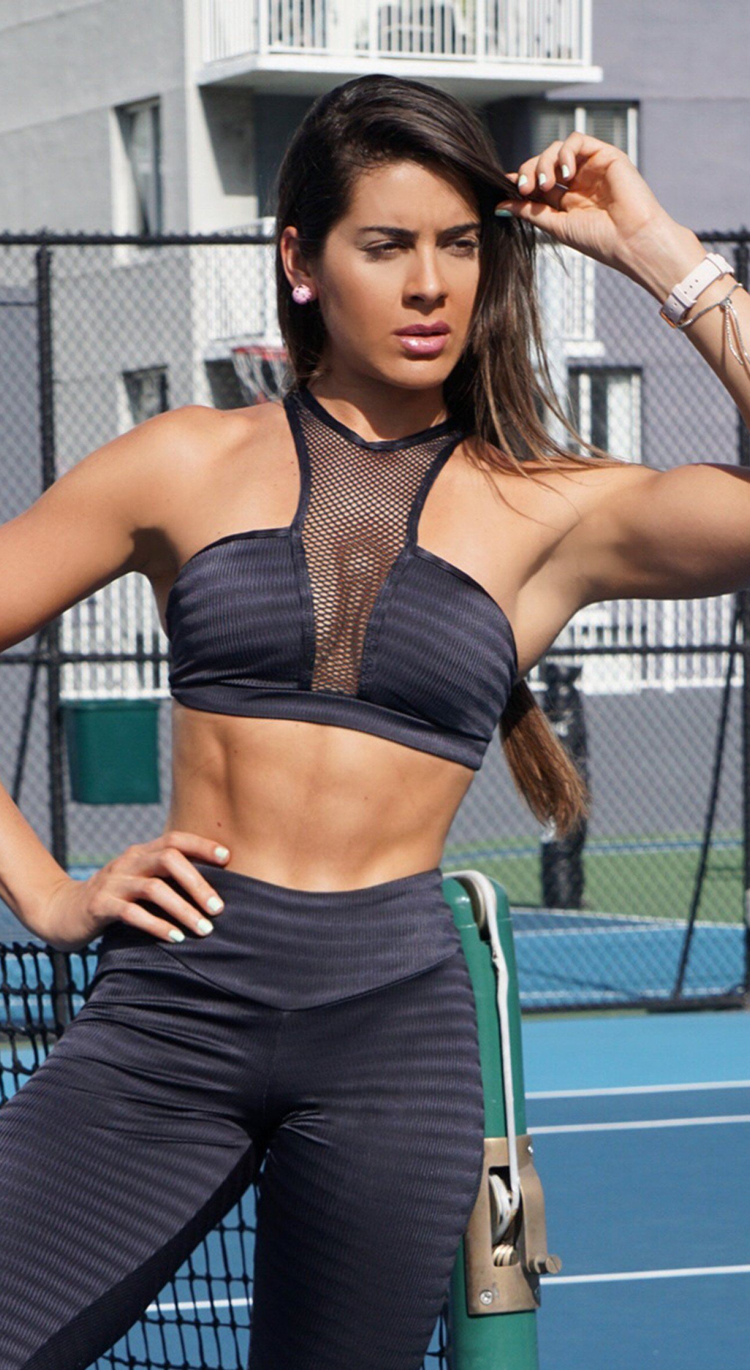 Brazilian Sports Bra - Bombshell Jackar Black