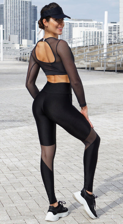Brazilian Workout Legging - High Waist Squad Proof Famous