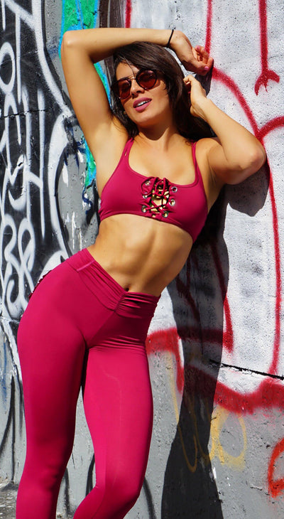 Sports Bra - Top Bra Audacity Red