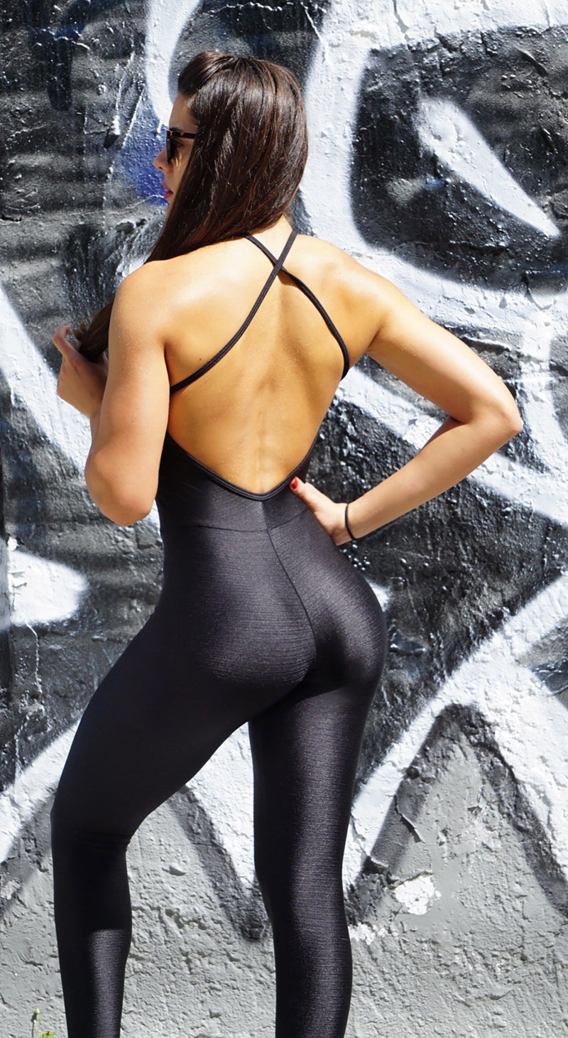 Brazilian Workout Jumpsuit - Yoga Zen Marrakeshi