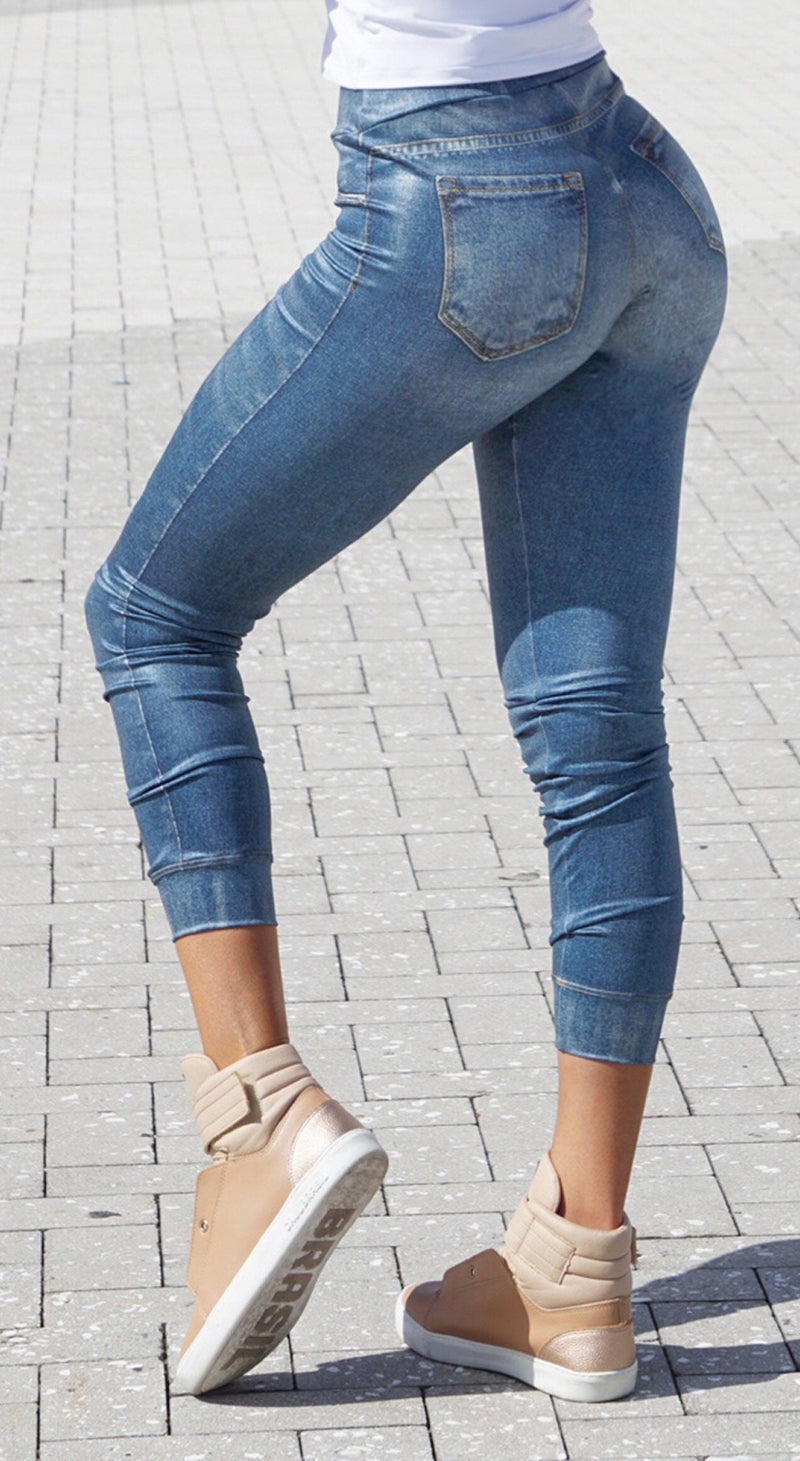 Brazilian Fake Jeans - Denim Jogger III