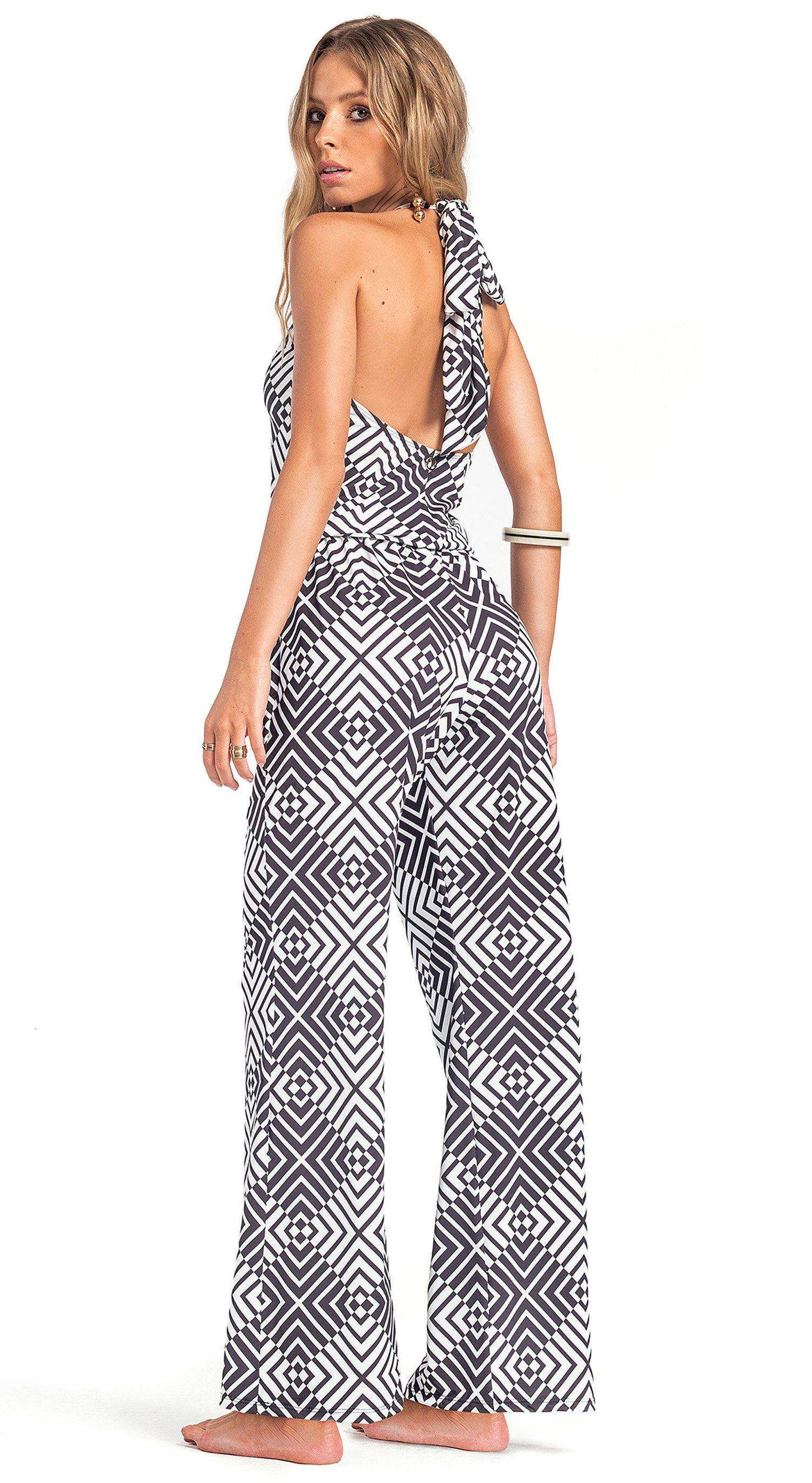 Brazilian Romper Cover Up - Resort Sea
