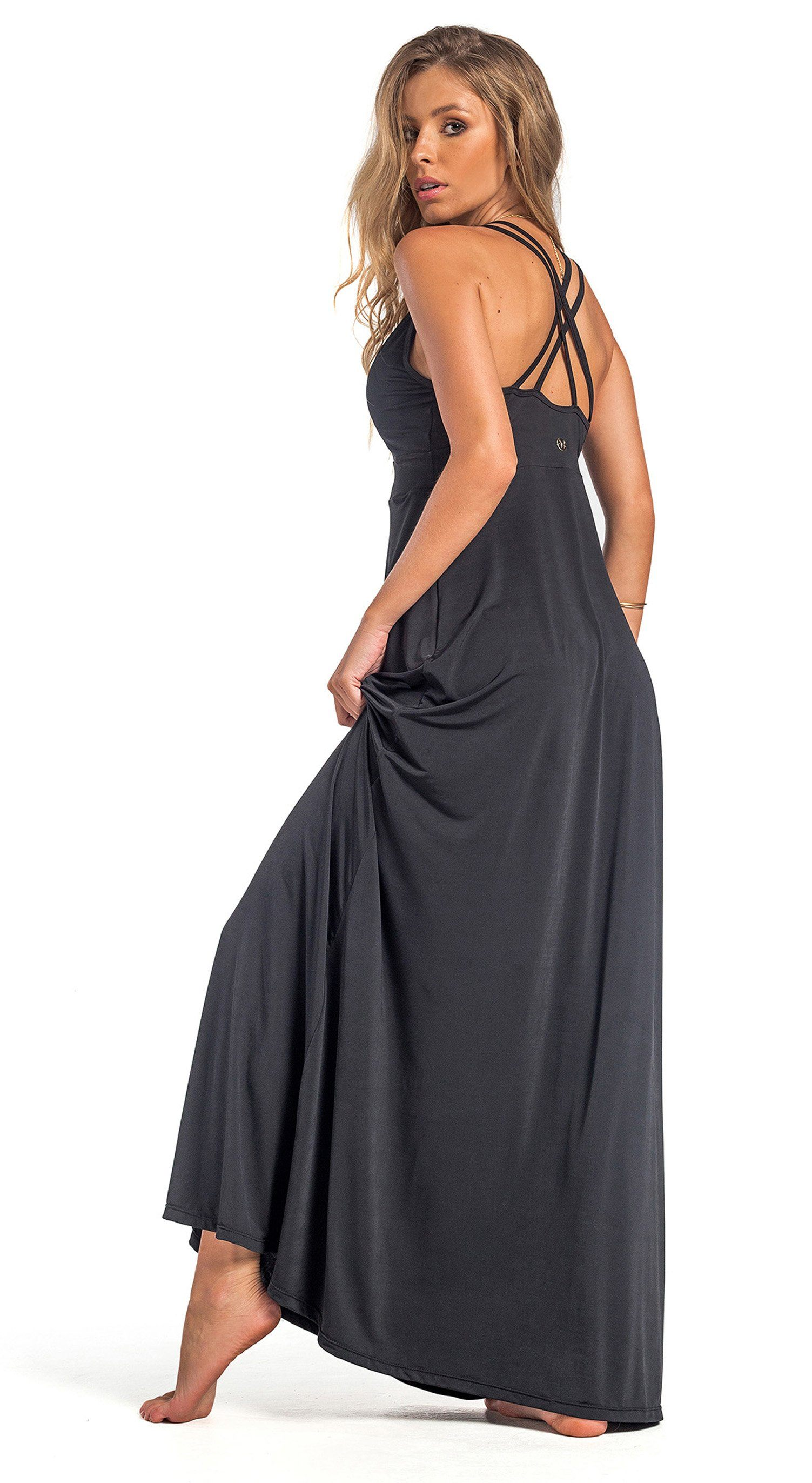 Brazilian Dress Cover Up - Capri Black