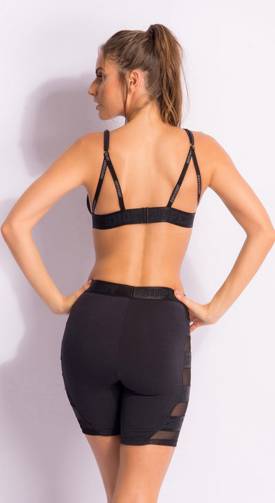 Brazilian Workout Sports Bra - Superhot Bravery Top