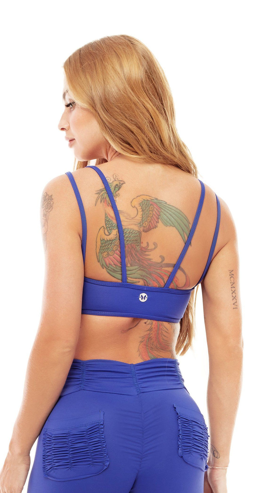 Sports Bra - Top Bra Audacity Blue