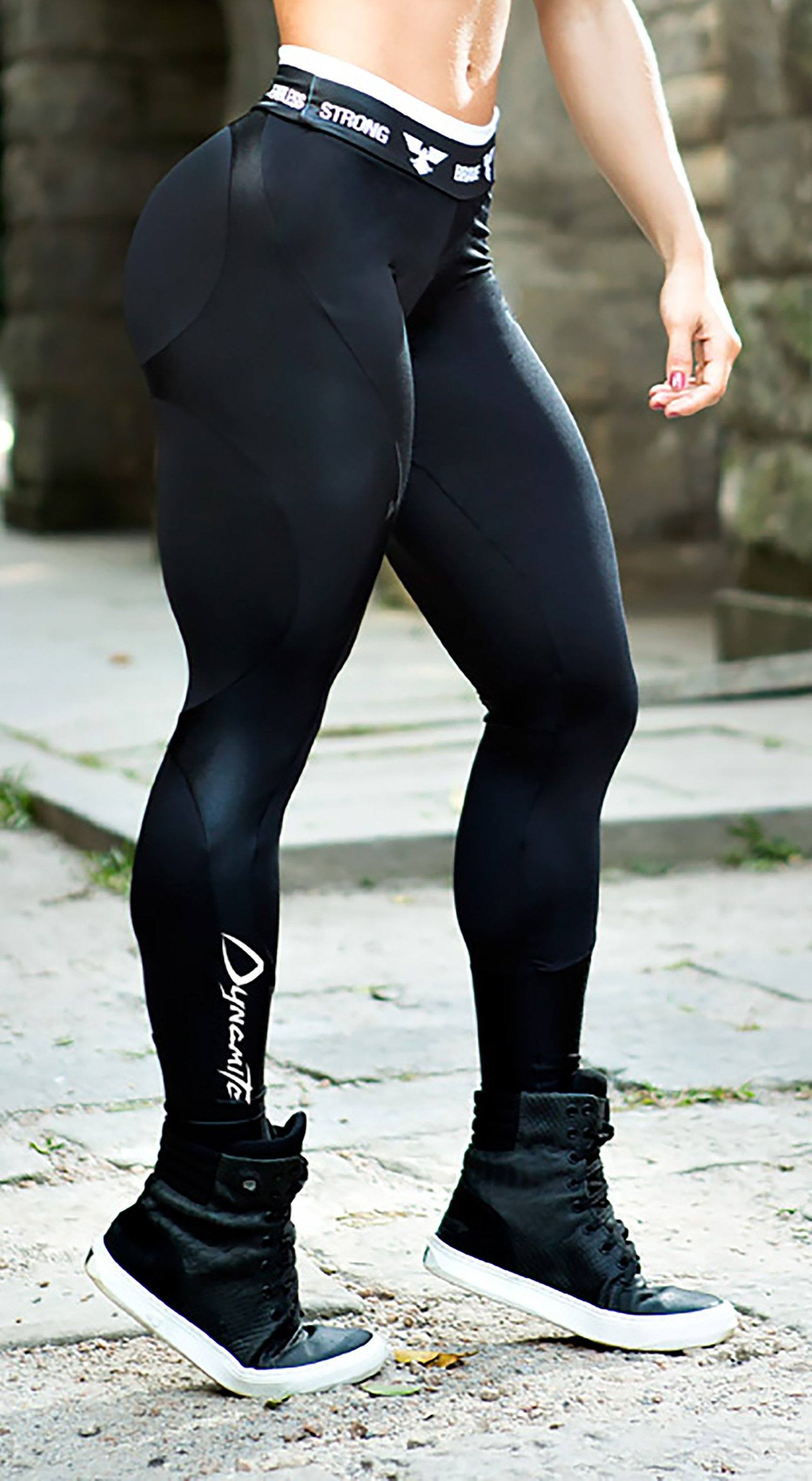 e8b46de6b7def Brazilian Workout Legging | Apple Booty Black | Top Rio Shop