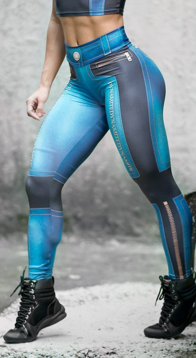Brazilian Workout Legging - Jeans Addiction