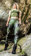 Brazilian Workout Legging - Jungle Soldier