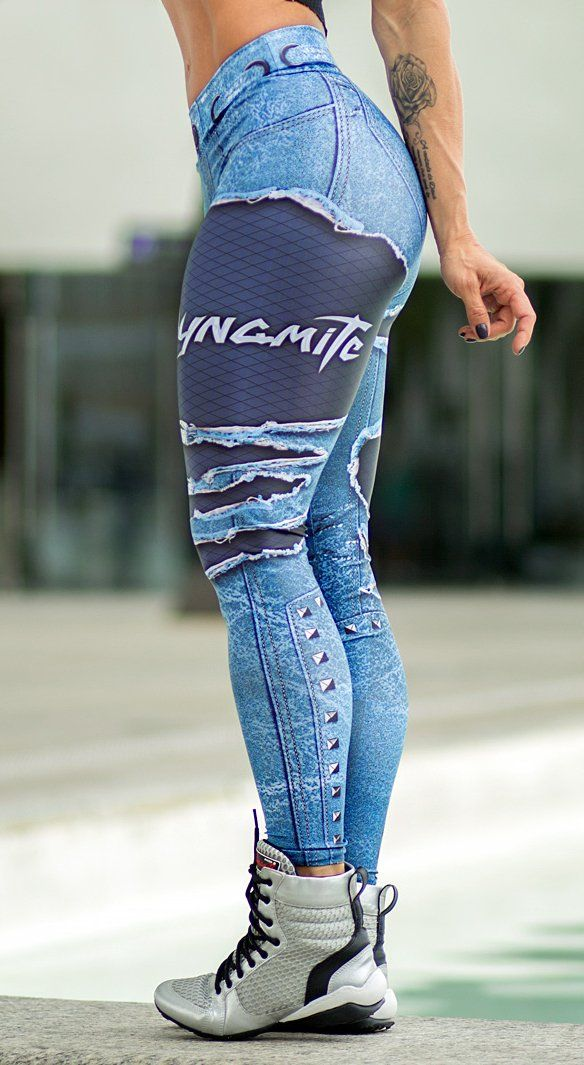 Brazilian Workout Legging - Placebo Denim