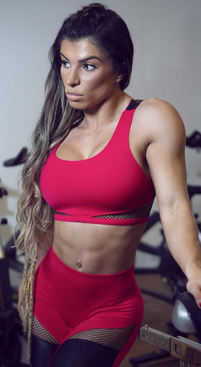 Brazilian Workout Top - Top Fiery