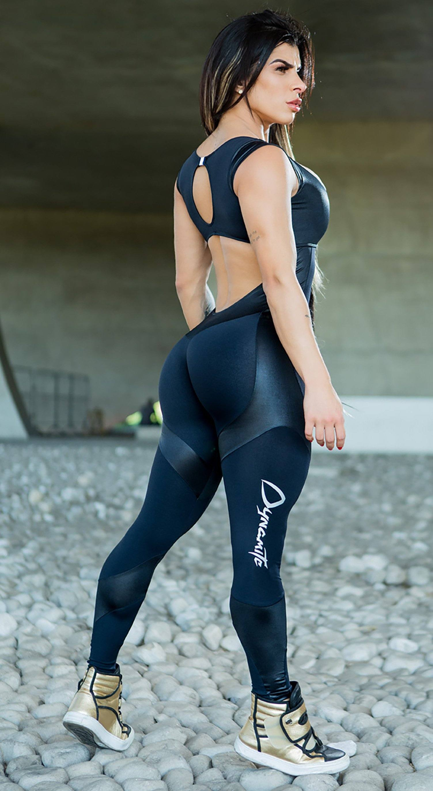Fitness Jumpsuit Walla Black
