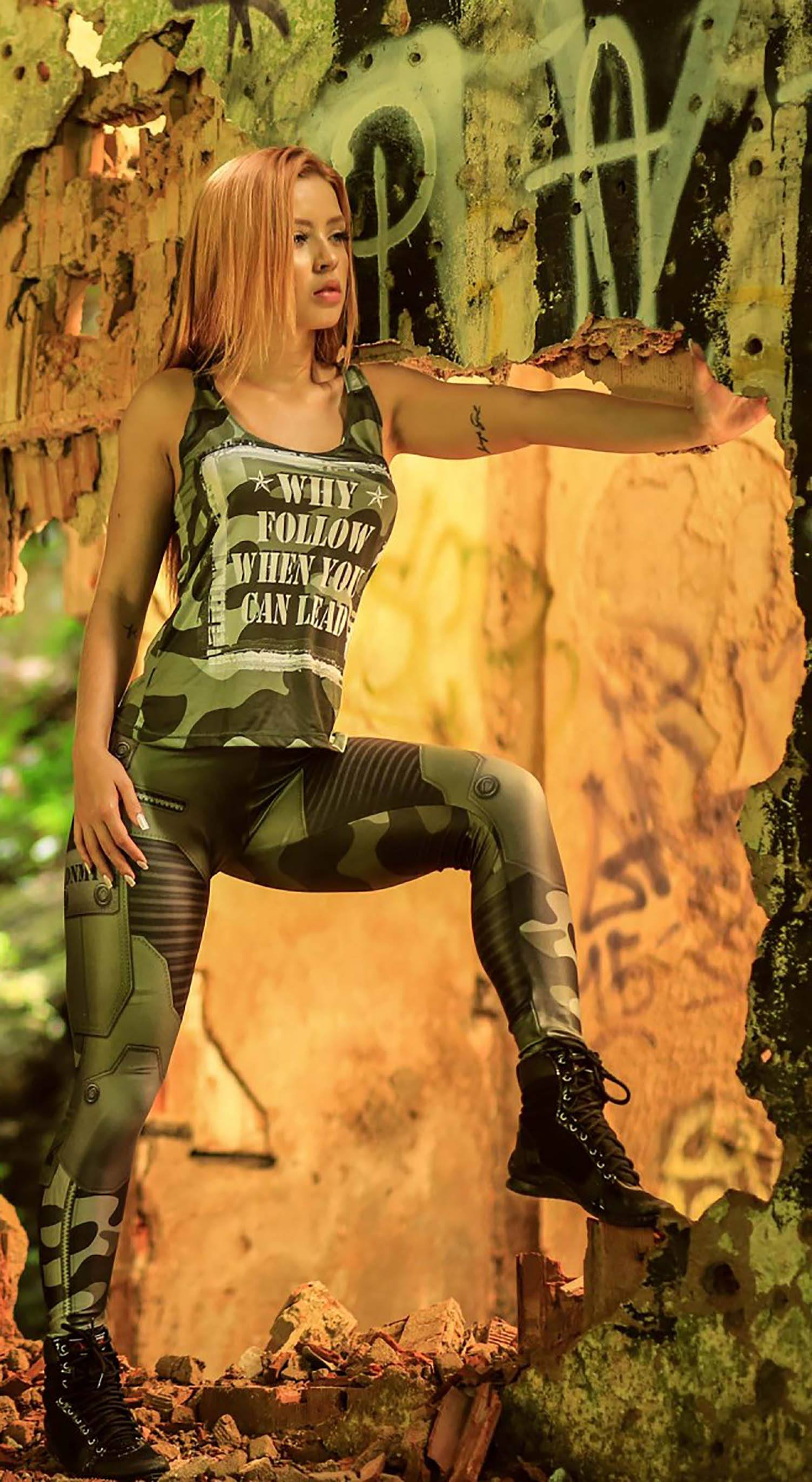 Brazilian Tank Top - The Guardian Green