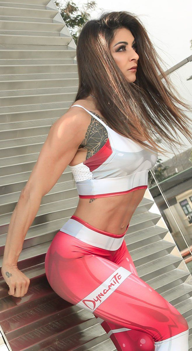Brazilian Workout Top - Top Mercury Red