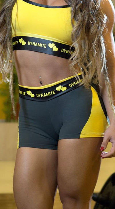 Brazilian Workout Shorts - Apple Booty Splendid