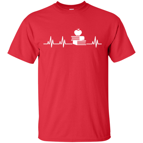 Teacher Heartbeat  T-Shirt - TeachersLoungeShop - 8