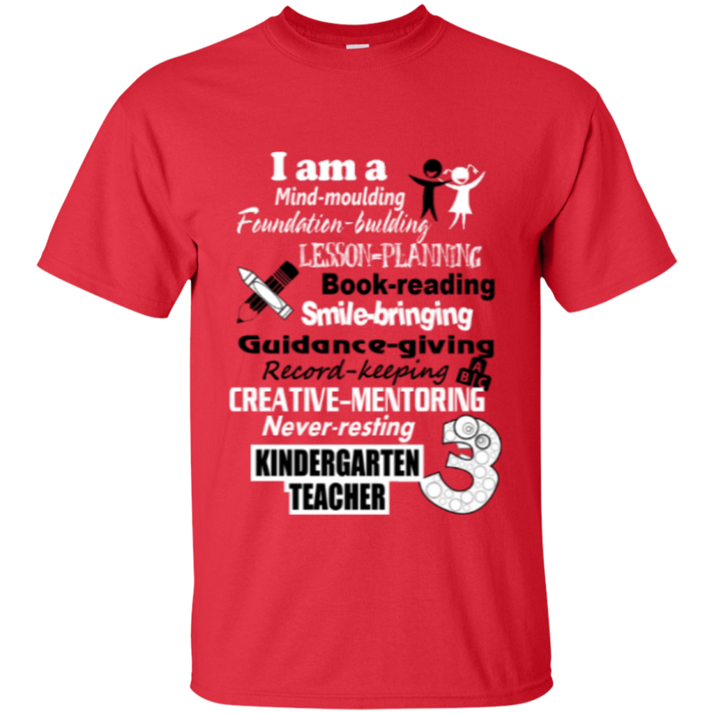 Kindergarten Teacher  T-Shirt - TeachersLoungeShop - 1