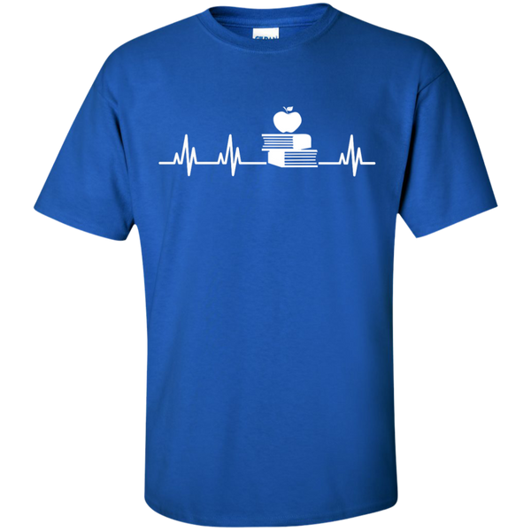 Teacher Heartbeat  T-Shirt - TeachersLoungeShop - 9