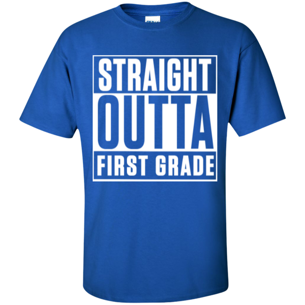 Straight Outta First Grade  T-Shirt - TeachersLoungeShop - 8
